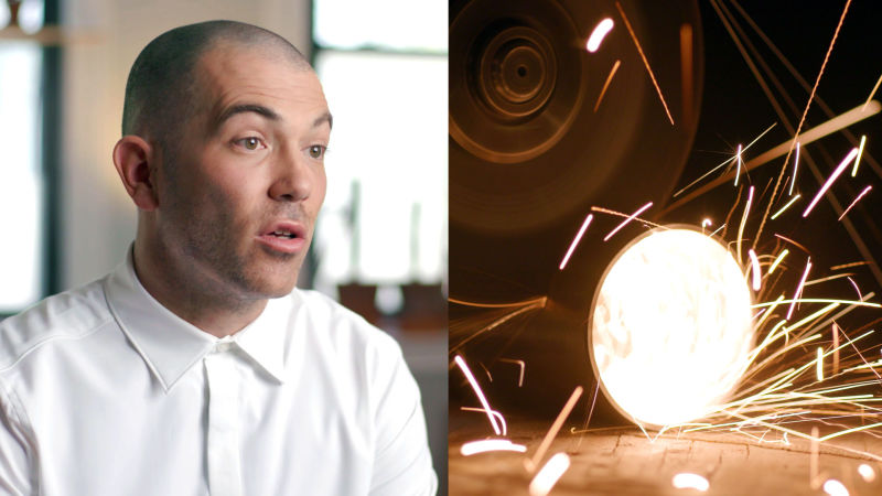 How One Artist Balances Form and Function with His Light Sculptures