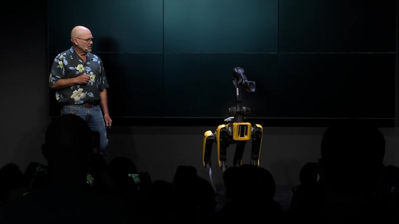 SpotMini & Boston Dynamics Founder Marc Raibert at WIRED25