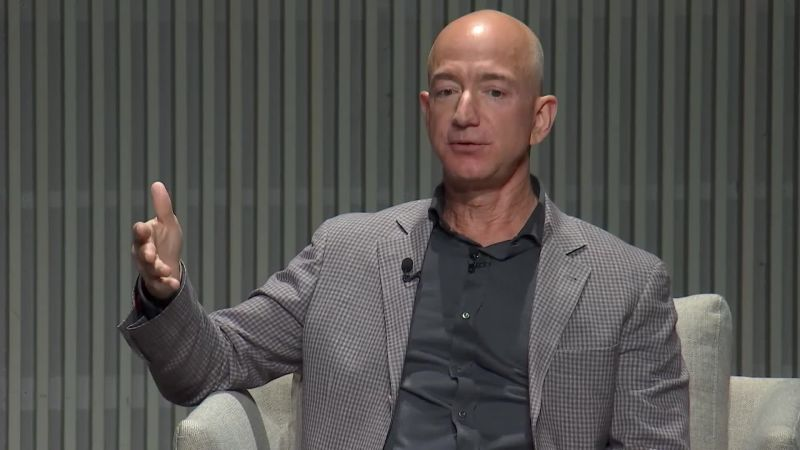 Amazon CEO Jeff Bezos Speaks at WIRED25