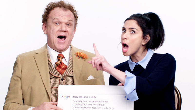 Sarah Silverman & John C. Reilly Answer the Web's Most Searched Questions
