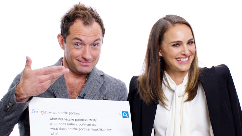 Natalie Portman & Jude Law Answer the Web's Most Searched Questions