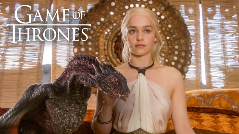 Game of Thrones: Dragon Effects Exclusive