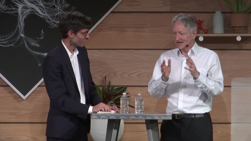 Nick Thompson in conversation with Geoffrey Hinton