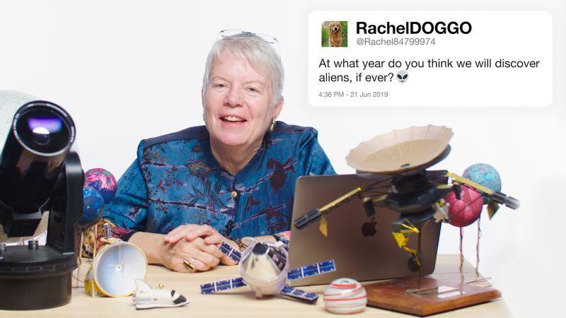Astronomer Jill Tarter Answers Alien Questions From Twitter