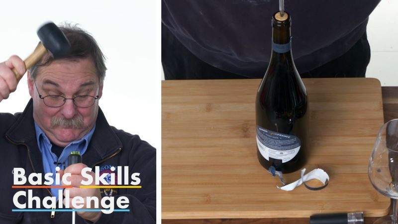 How to Open a Wine Bottle Without a Corkscrew | Epicurious