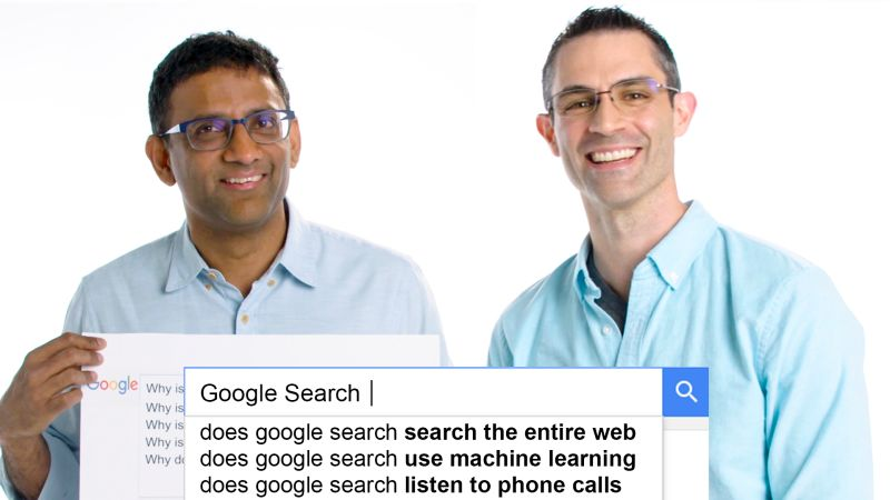 Google Search Team Answers the Web's Most Searched Questions