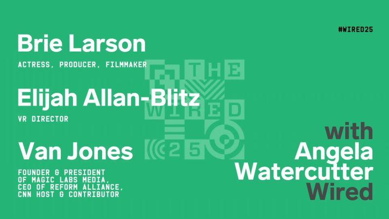 WIRED25 2020: Brie Larson on VR vs Film