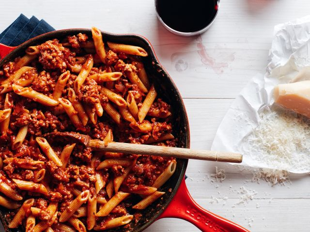 The Best 15-Minute Pasta Meat Sauce