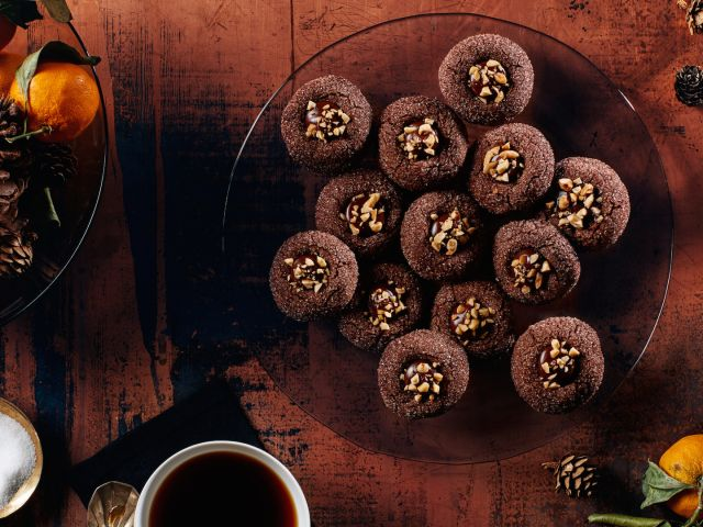 How to Make the Ultimate Chocolate Thumbprint Christmas Cookies