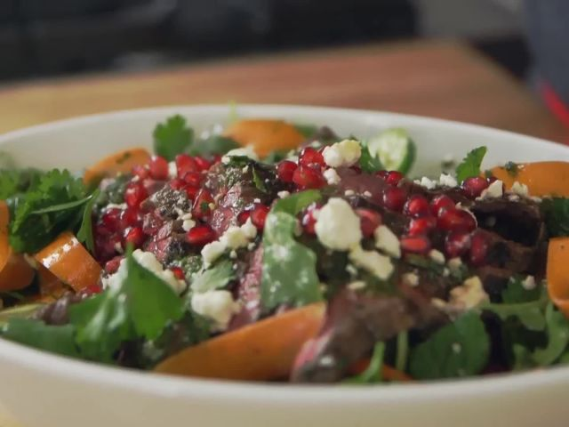 How to Make Moroccan Steak Salad