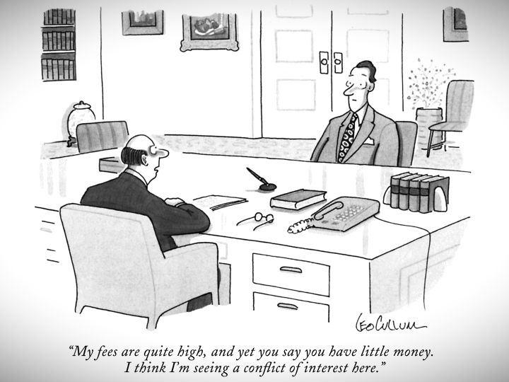 Watch The Cartoon Lounge | Conflict of Interest | The New Yorker