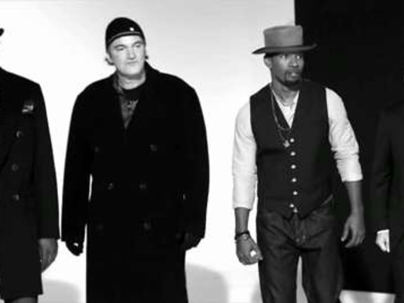 GQ's 2012 Men of the Year: The Men of Django Unchained