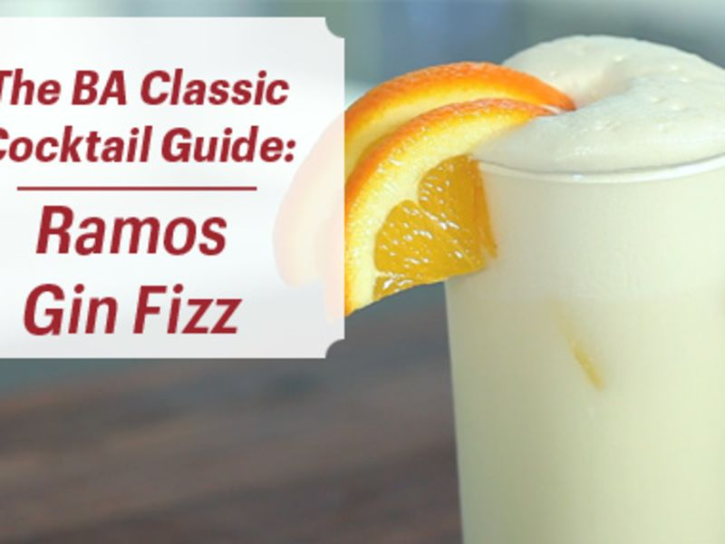 How to Make a Ramos Gin Fizz