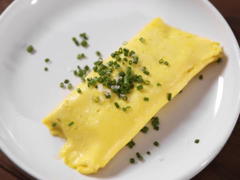 The Perfect French Omelet Is Super Runny, Bright Yellow, and Full of Butter