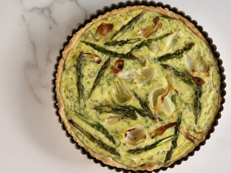 How to Make an Awesome Spring Vegetable Tart