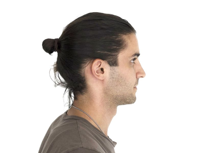 How to Style a Man Bun