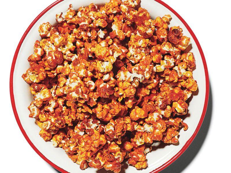 The Sweetest, Saltiest, Buffalo-iest Popcorn Ever