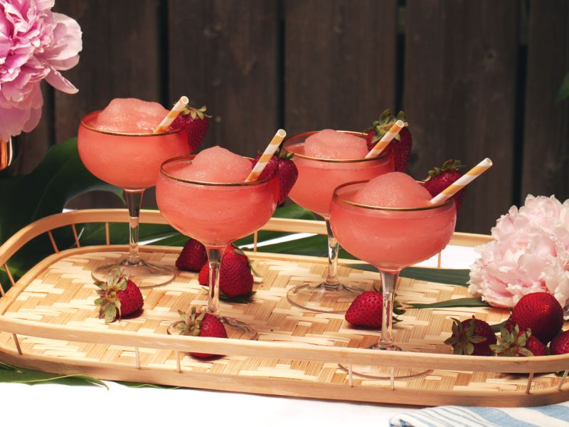 Frozen Rose: A Recipe How To Video