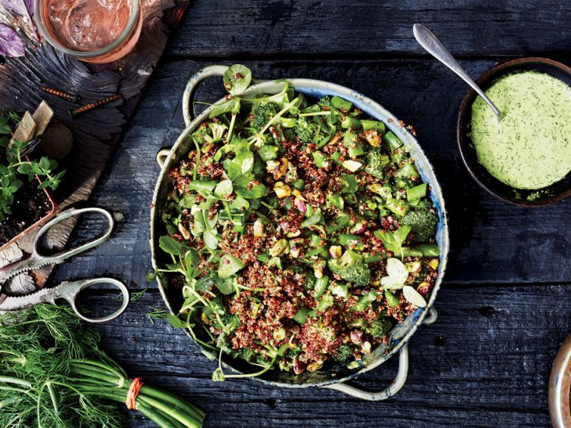 How to Make the Freshest Quinoa Salad