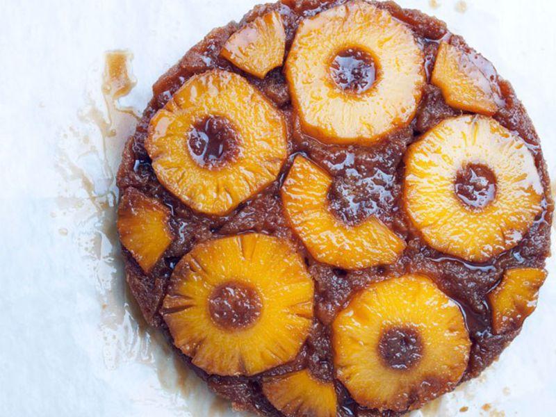 Old-School Pineapple Upside-Down Cake