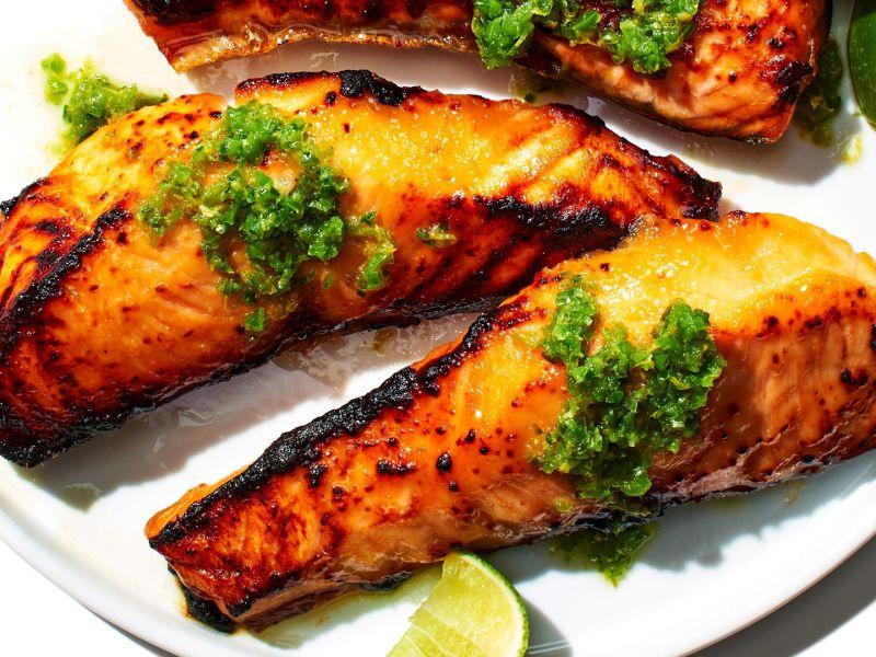 Kombu Cured Salmon