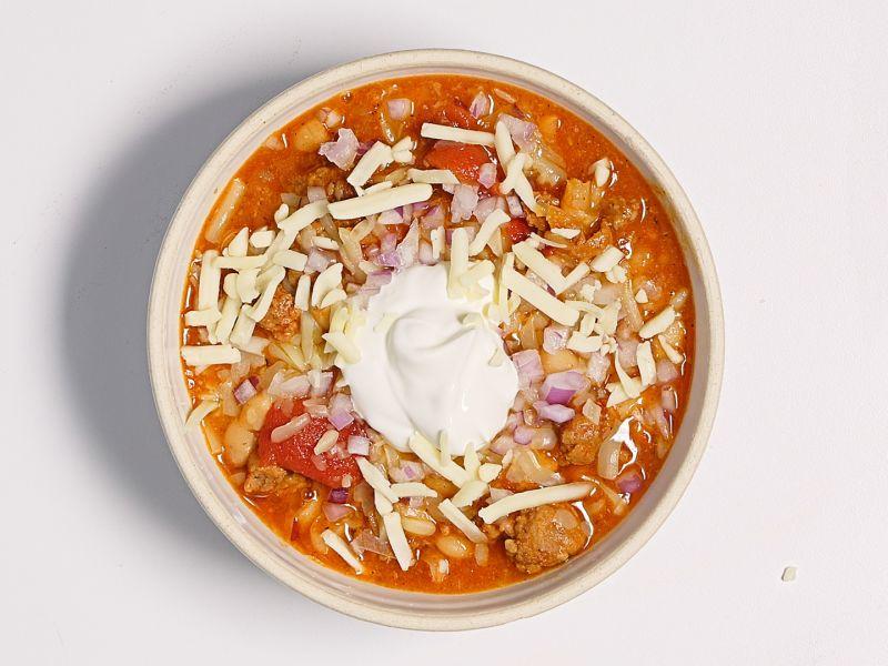 Big Batch Chorizo and White Bean Chili