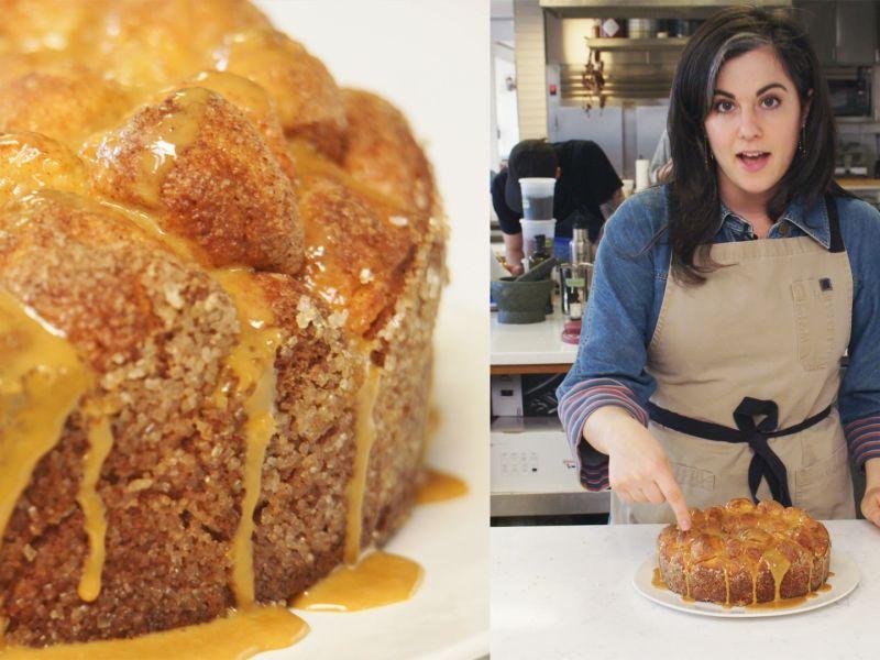 Claire Makes Monkey Bread