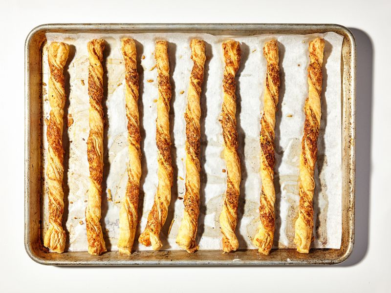 Everything Spice Cheese Straws