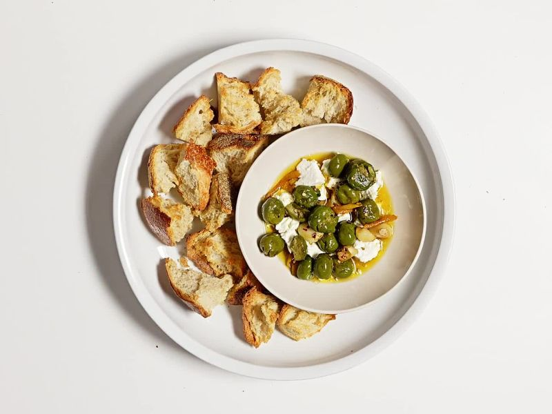 Marinated Olives & Feta