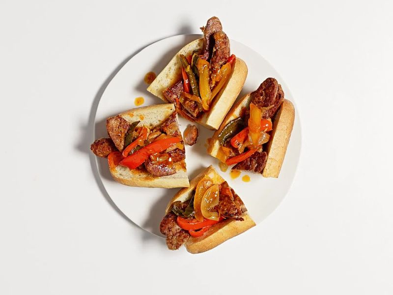 Sausage, Pepper, and Onion Sub