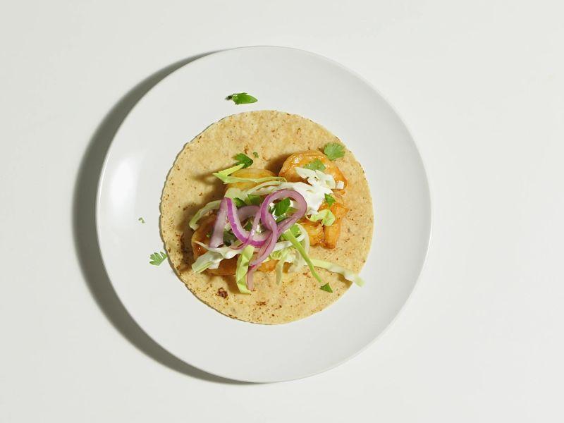 Chipotle-Honey Shrimp Tacos