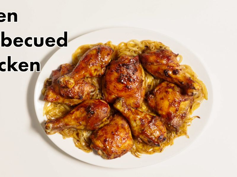 Basically Oven-Barbecued Chicken