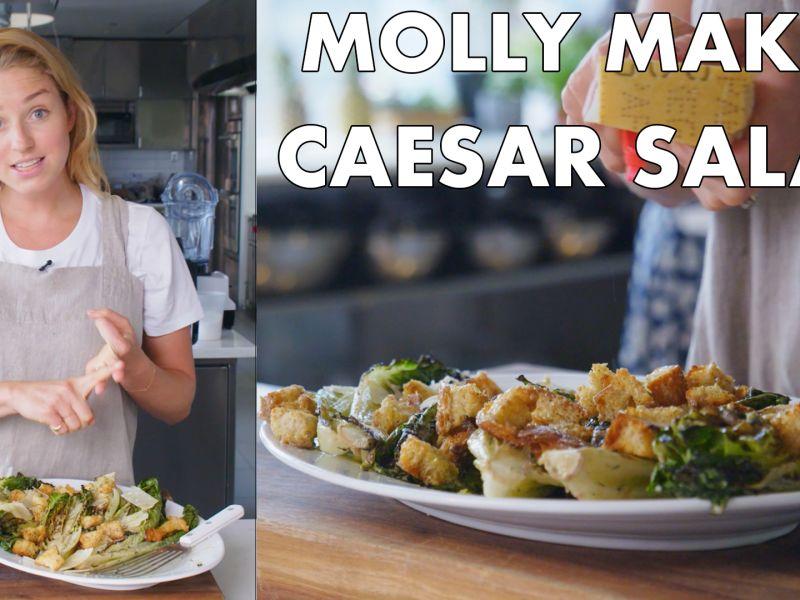 Molly Makes Classic Caesar Salad