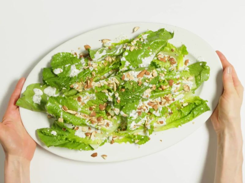 Every Night Salad with Yogurt Ranch