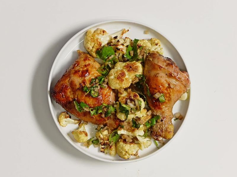 Sheet Pan Garam Masala Chicken