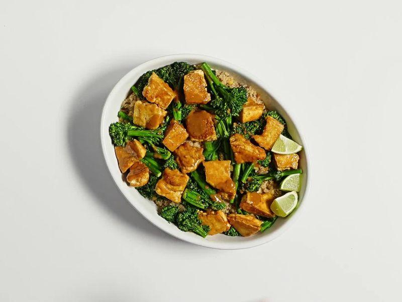 Tofu with Coconut Quinoa