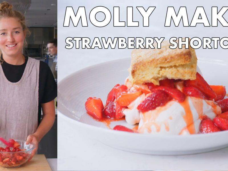 Molly Makes Strawberry Shortcake