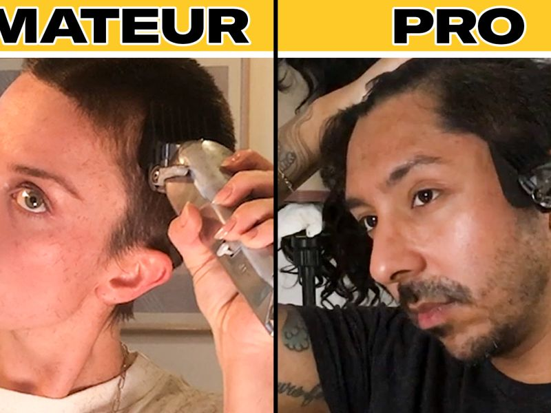 Watch Pro Barber Teaches Amateurs How To Shave Their Heads Gq Video Cne