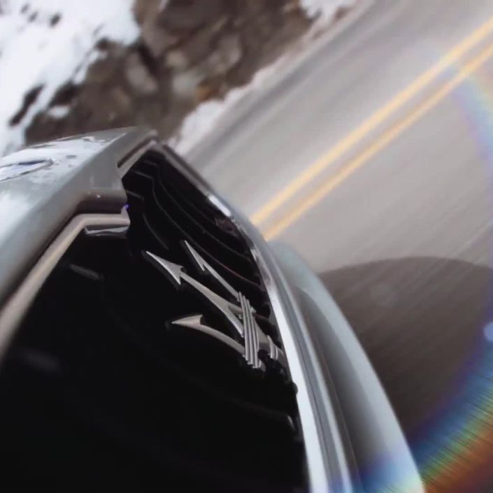 A Maserati in the Rockies