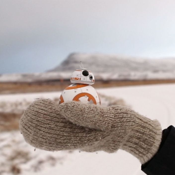 Star Wars' BB-8 Goes Rogue, Takes Extravagant Vacation (Courtesy of Traveler)