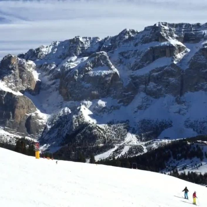 The Dolomites in the Winter