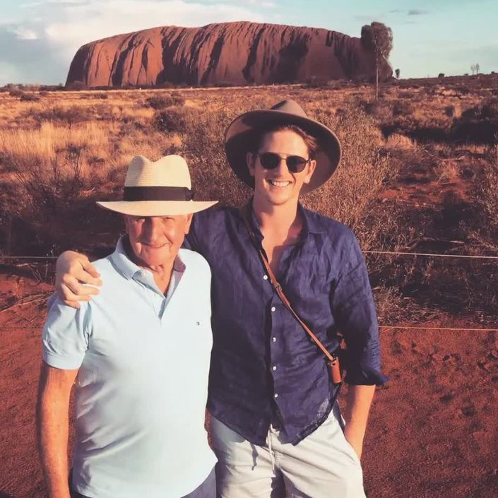 Travel Journal: a Father and Son Journey to Uluru