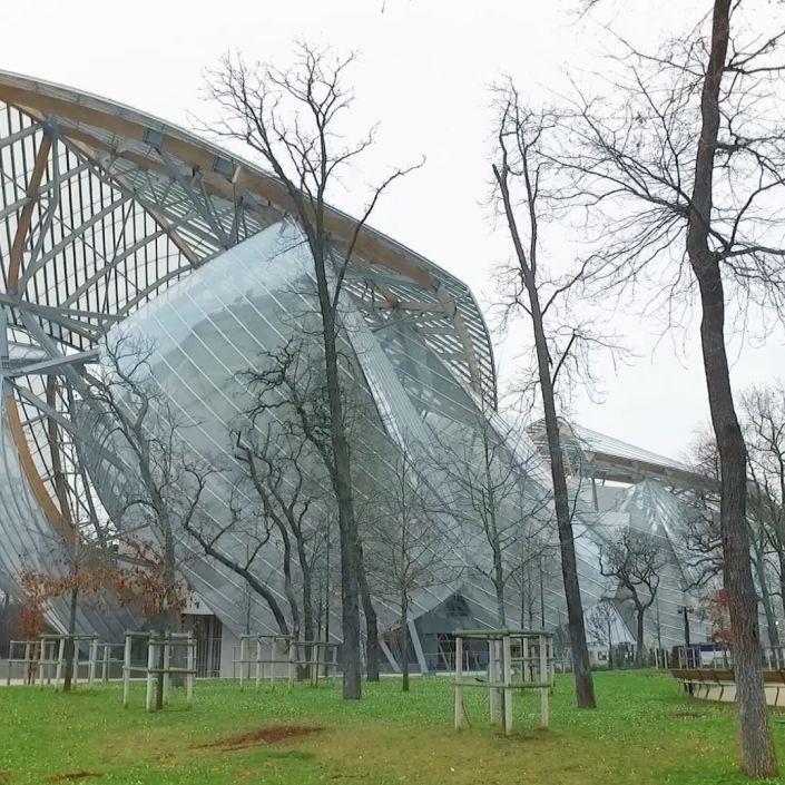 Paris's Best New Museum: The Foundation Louis Vuitton