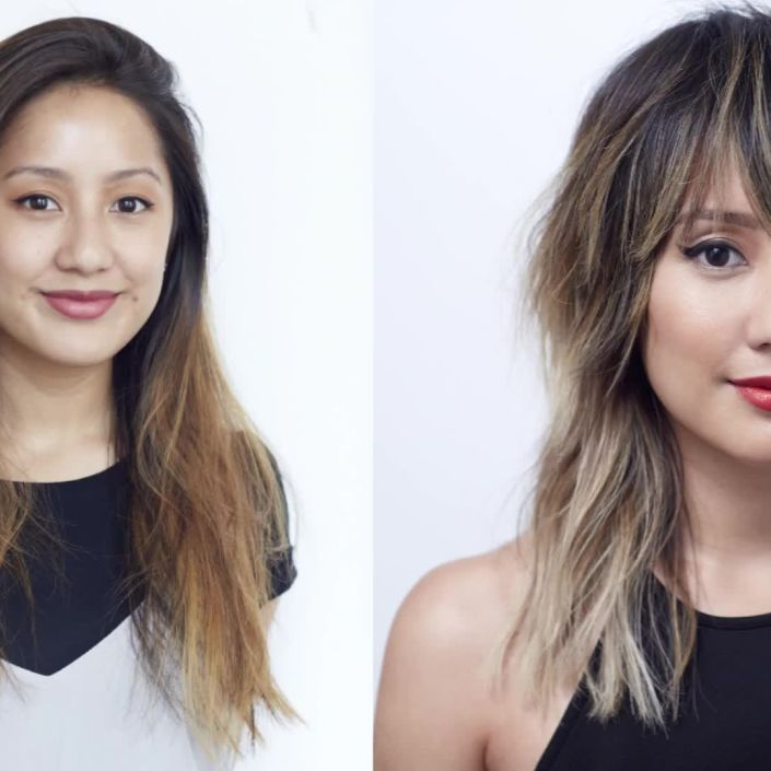 Hairstory Staff Makeover: Chrissy Teigen-Inspired Hair Transformation