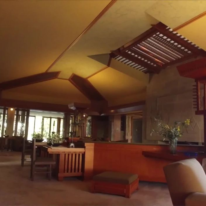 Inside Frank Lloyd Wright's Hollyhock House