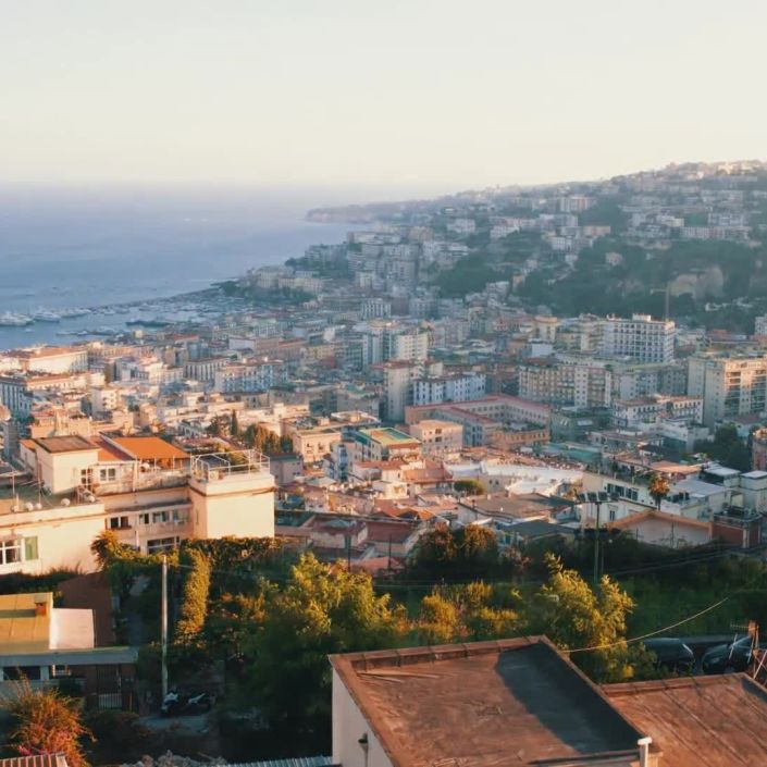 A Day in Naples, Italy