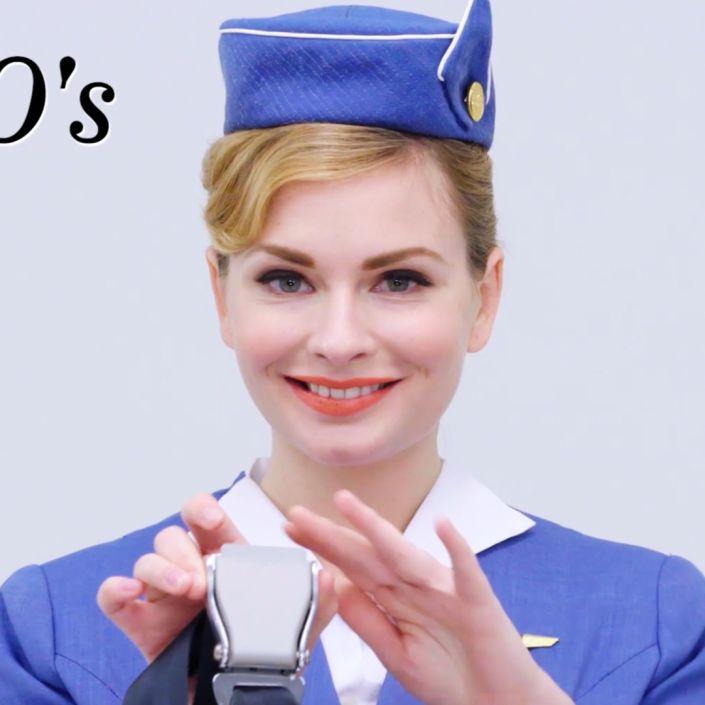 100 Years of Flight Attendant Uniforms