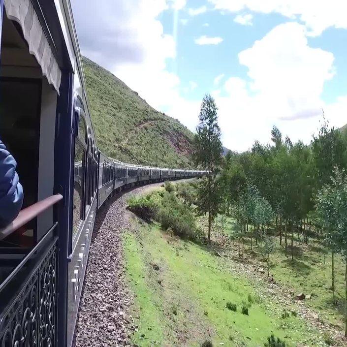 Train Ride Through the Peruvian Andes