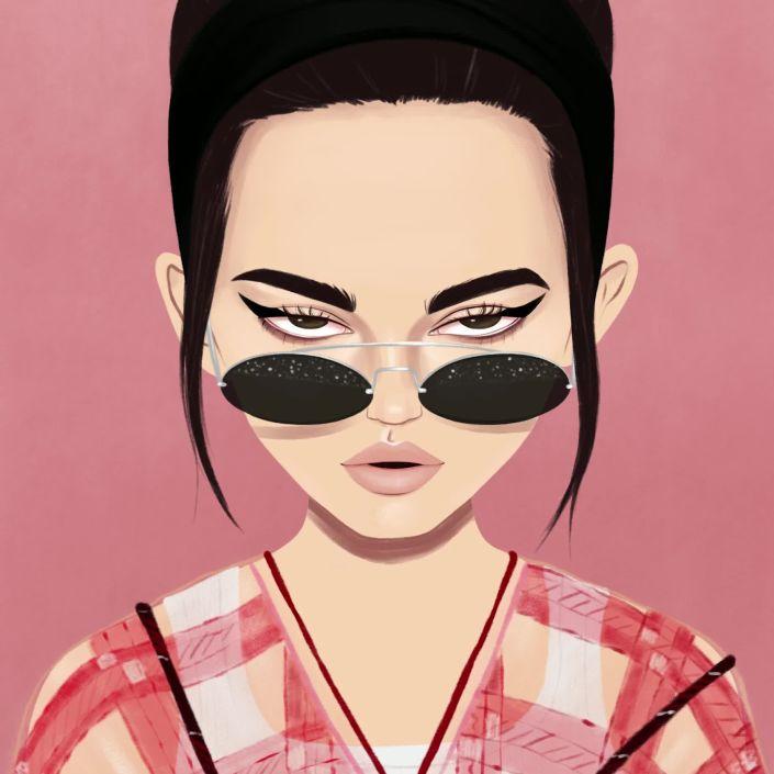 Miu Miu Spring Fashion Week Illustration Time Lapse