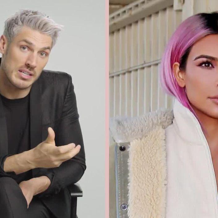 Kim Kardashian's Hairstylist Chris Appleton Breaks Down Her Most Iconic Looks